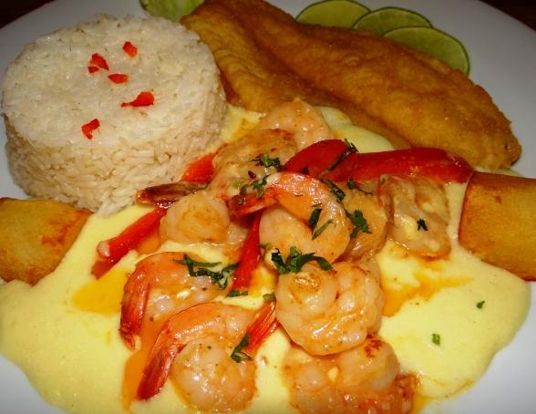 ... Blog Archive Pescado En Salsa De Camarones - Piolin2 Restaurant